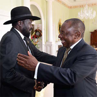 Deputy President Ramaphosa to attend the South Sudanese Liberation Movement Conference in Juba