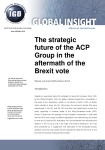 The strategic future of the ACP Group in the aftermath of the Brexit vote