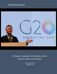 The Legacy of Argentina's G20 Presidency in 2018: Priorities, Outcomes and Prospects