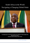 South Africa in the World: Navigating a Changing Global Order