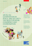 UN-EU-AU Cooperation in Peace and Security: The Need for More Coherence and Coordination